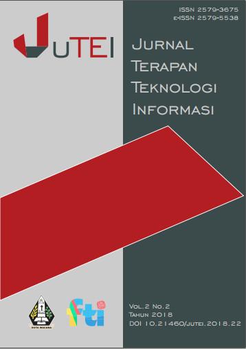 View Vol. 2 No. 2 (2018): Jurnal Terapan Teknologi Informasi
